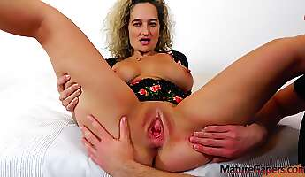 ameli monk is a dirty minded blonde woman who likes to have hardcore sex every day