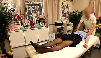 pervert japanese doctors massage