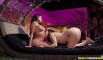 long sex toys are all lela star and her friend need to get pleased