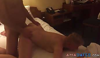 adventure in a hotel room with my slut wife