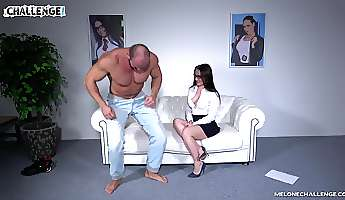 strong guy satisfies lovely wendy moon by banging her roughly