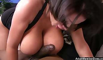 big load of black cock is what alexis silver loves the most