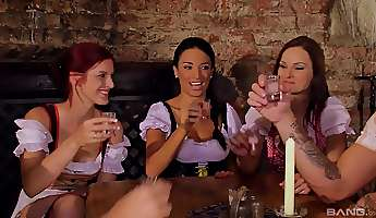 anissa kate and other babes like it when they get pounded together