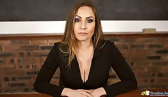 strict but extremely sexy prof sophia delane and her fabulous big boobs