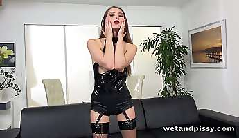 check out wet and pissy whore stefany who loves fingering her both holes