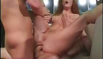 sexy redhead audrey hollander is always fun and does she love ffm threesomes