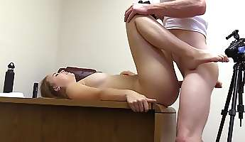 casting office fuck of a ridiculously beautiful young amateur