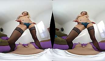 natasha starr fucks with a neighbor in pov while her tits bounce