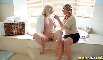 lexi lore and another girl want to fuck with only one guy
