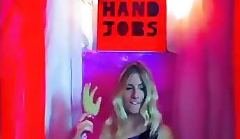 handjob booth monster cock cfnm