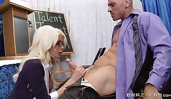 big tits at school your tits have more talent riley jenner johnny sins