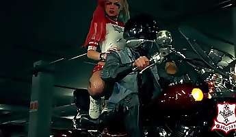 sexy harley quinns dance