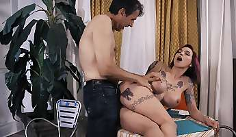 anna bell peaks takes older mans cock for a few wild rides