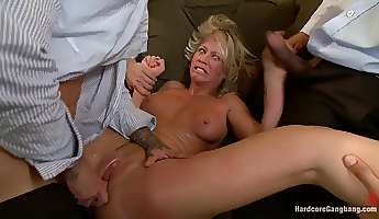 the swinger party horny milfs gangbang fantasy comes true