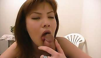 anna masturbates and gives a pov blowjob