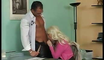 busty german mature fucking in office