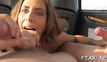 fake taxi is always available for fuck