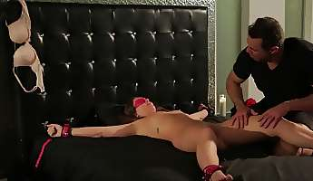 nice domination game turns into active pussy fucking action