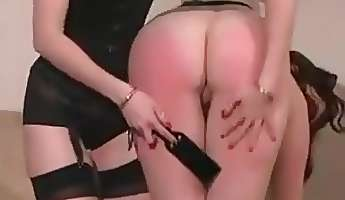 dirty girl getting spanked