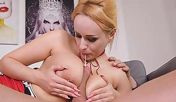 busty adult female deals cock in sensational modes