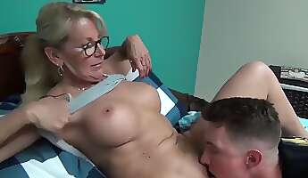 horny stepmom teaching sex