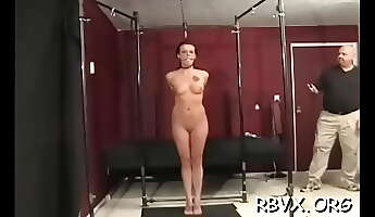 insatiable maiden is playing with her rubber sex tool