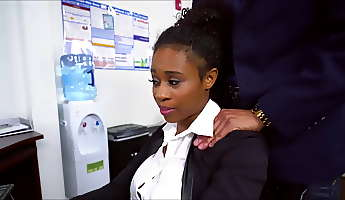 ivy young ebony secretary