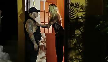 striptease turns pornstar on so she gets it on with dancer