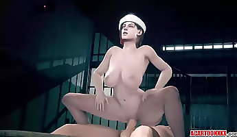 hot jill valentine gets pussy banged hard and raw