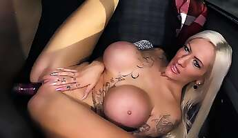 bums bus  inked german slut lena lay gets bus fucked by a