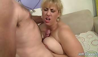 shaved meaty cunt of ssbbw blondie amazon darjeeling gets nailed in spoon pose