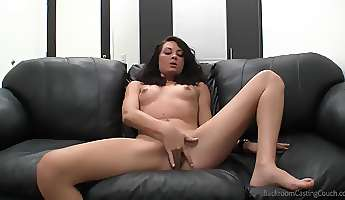 skinny college amateur fucked by a porn casting guy