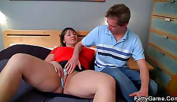 cock wanted bbw seduces shy man